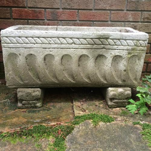 Planter on Plinths