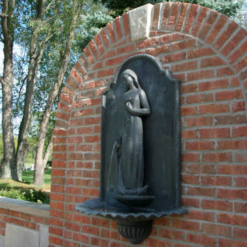 Wall Fountain with figure