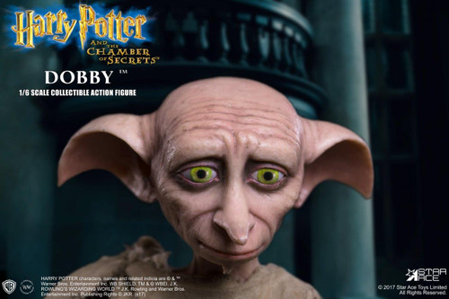 ... Star Ace Harry Potter Chamber Of Secrets Dobby House Elf 1/6 Scale  Figure 007 ...