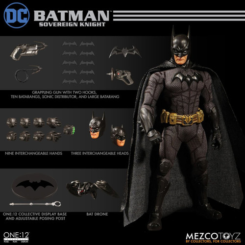 Картинки по запросу One:12 Collective Figures - DC Comics - Batman Sovereign Knight