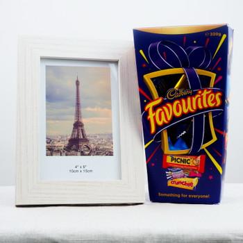 Photo Frame with Cadbury Favorite Chocolates