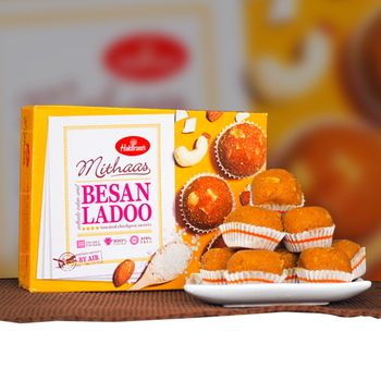 Delicious Besan Ladoo 400g - FOR AUSTRALIA