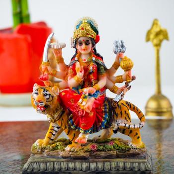 Maa Durga statue 3.5inch with Soan Papdi- FOR AUSTRALIA