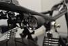 Black LED Custom Integrated Motorbike Indicators with Stop & Taillights - CNC Billet Aluminium