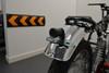 Motorbike LED Black Stop Taillight Mesh Grill Project Retro Custom - QUALITY