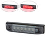 "4"" / 100mm Flush Mount Motorbike Smoked LED Stop / Tail Light for Streetfighters & Cafe Racers, Brat Bikes"