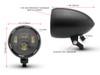 Stealth Custom Motorbike LED Projector Headlight Billet Aluminum Chopper Cruiser