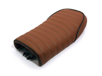 Brown Universal Seat for Cafe Racer / Streetfighter / Scrambler / Yard Build Motorbike Motorcycle Models