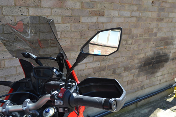 Motorbike Motorcycle Mirrors 10mm for Yamaha Adventure Bike Commuter Street Bike