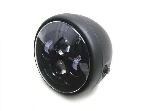 Motorbike Motorcycle LED 75 Headlight For Custom Project Retro Cafe Racer Bike