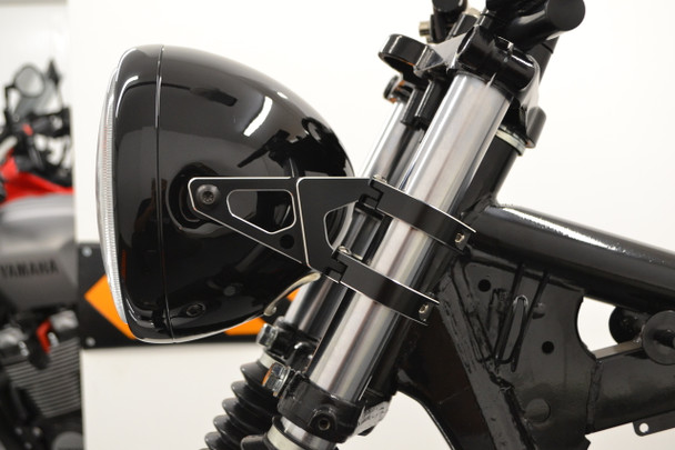 PAIR High Quality CNC Machined Motorbike Motorcycle Headlight Brackets (size options available)