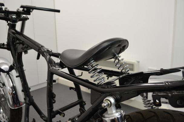 Motorbike Single Seat Bobber Chopper Vintage Retro Custom Project - Universal