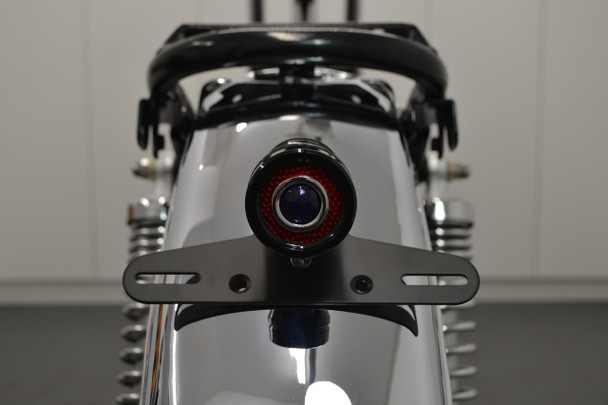 Motorbike LED Stop Taillight Project Retro Vintage Custom Cafe Racer Gloss Black