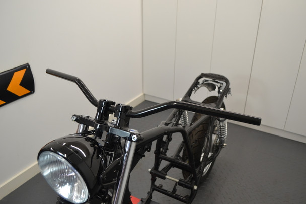 "Motorbike Drag Handlebars - 22mm (7/8"") for Scramblers Streetfighters Brat Bikes"