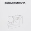 Janome DC2015 Computerized Refurbished Sewing Machine - Instruction book