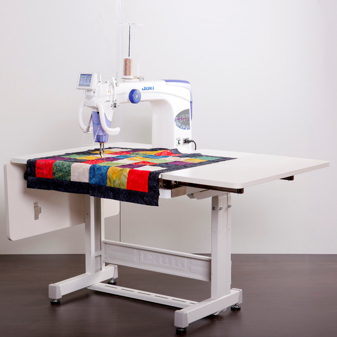 Juki TL40QVPS Long Arm Quilting Machine With Sit Down Table Delectable Free Arm Quilting Sewing Machine