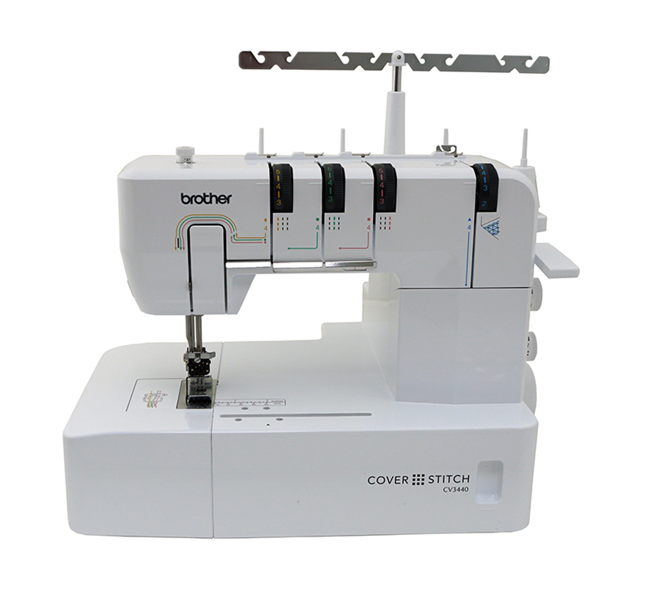 Brother CV40 Single Sided Cover Stitch Machine 4040 FREE Unique Coverstitch Sewing Machine