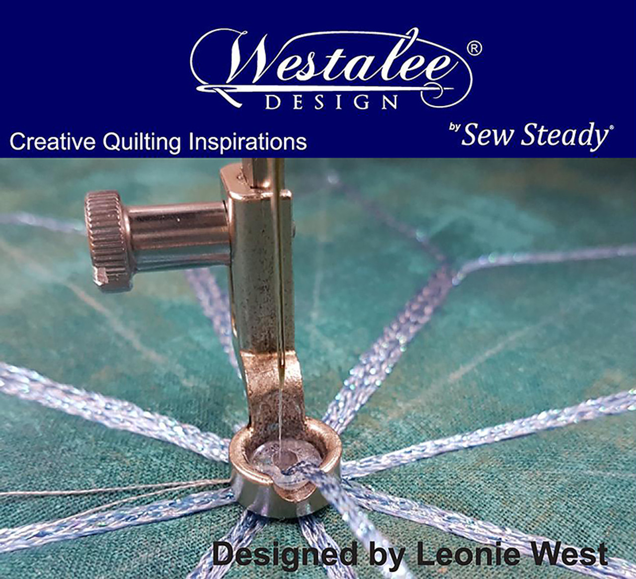 Sew Steady Westalee Decorative Thread Couching Ruler Foot 4040 Delectable Ruler Foot For Brother Sewing Machine