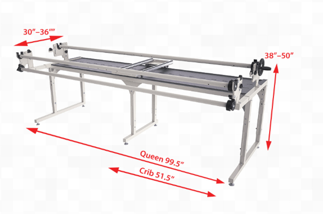 Grace Continuum 8\' Machine Quilting Frame with G Series Carriage ...