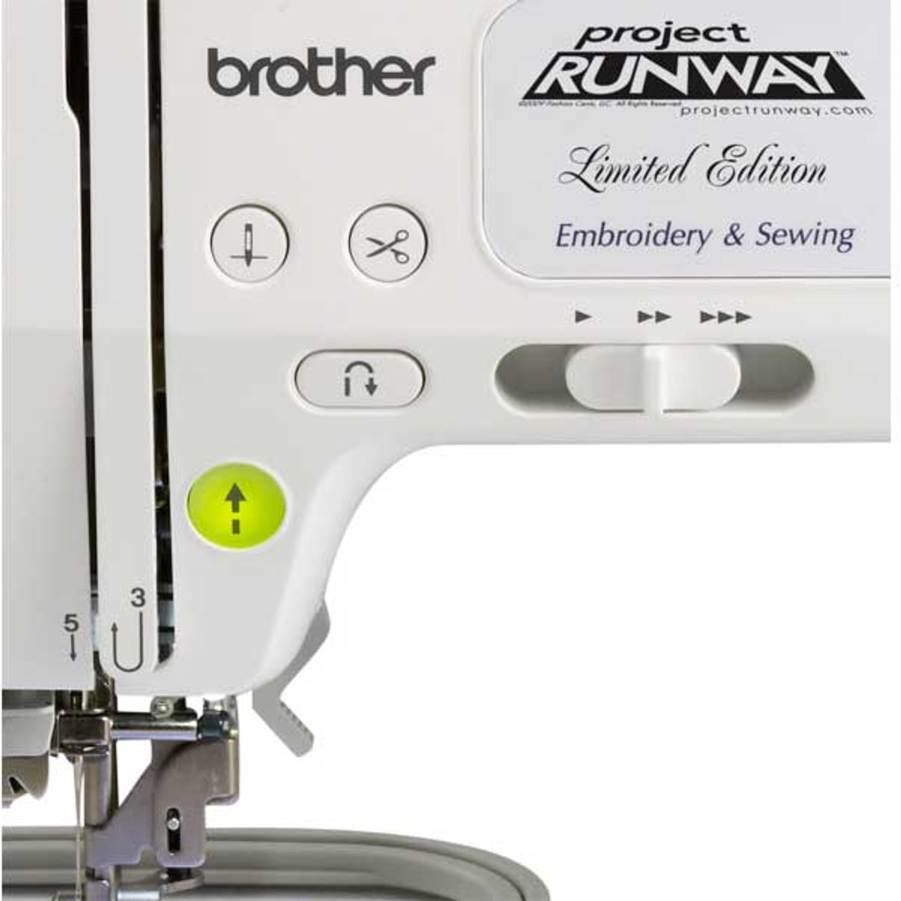 Brother LB40 PRW Project Runway Edition Sewing Embroidery Machine Gorgeous Brother Project Runway Sewing And Embroidery Machine