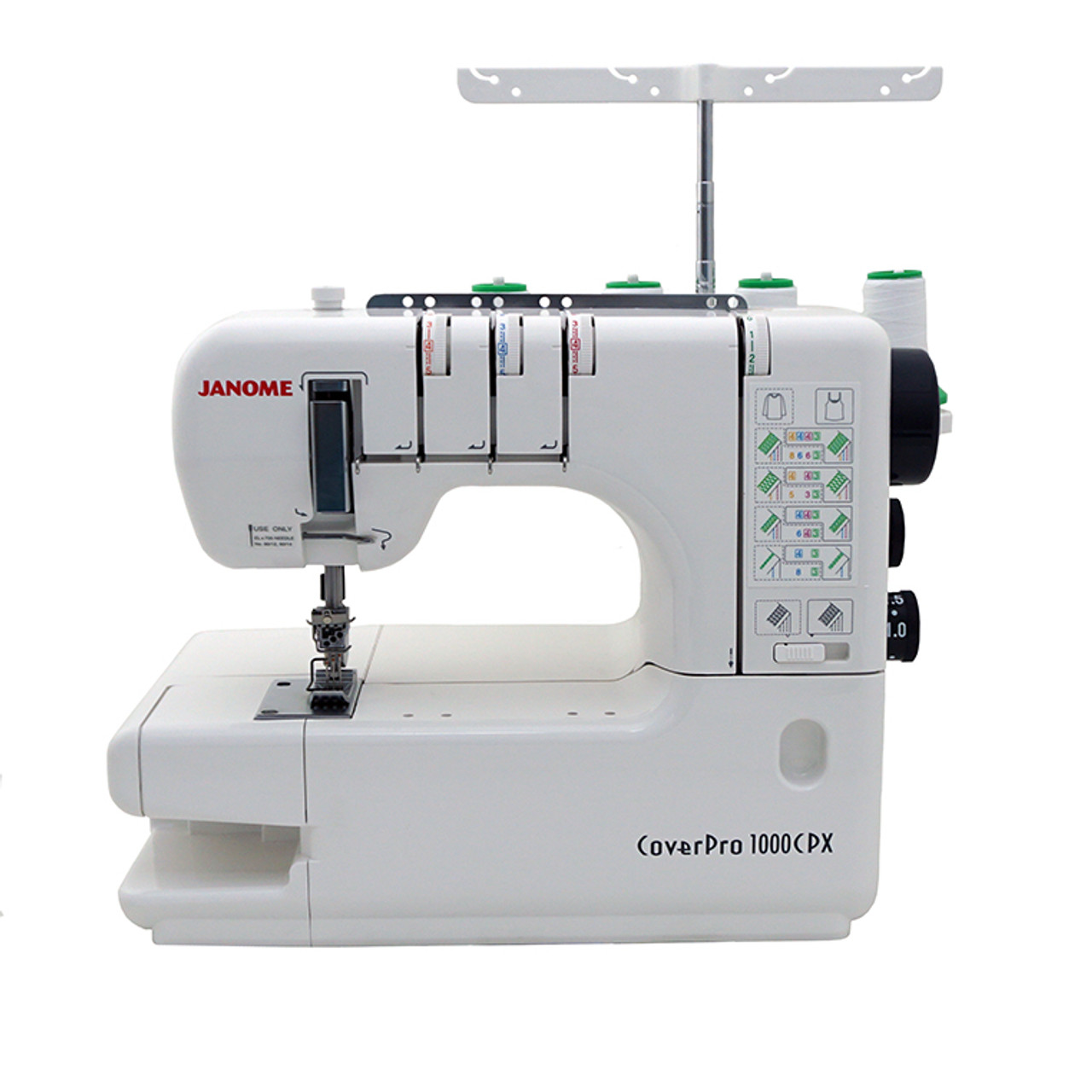 Janome Cover Pro 40CPX Coverstitch Machine Bonus Bundle 4040 Adorable Coverstitch Sewing Machine
