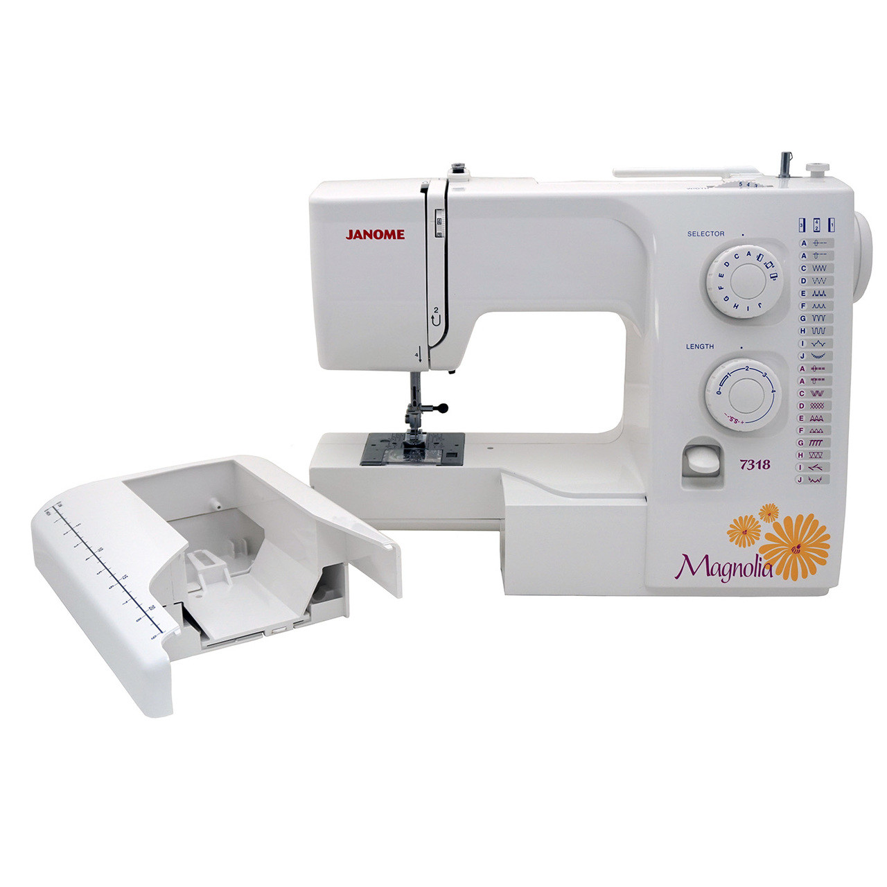 ... Janome Magnolia 7318 Sewing Machine with Exclusive Bonus Bundle ...
