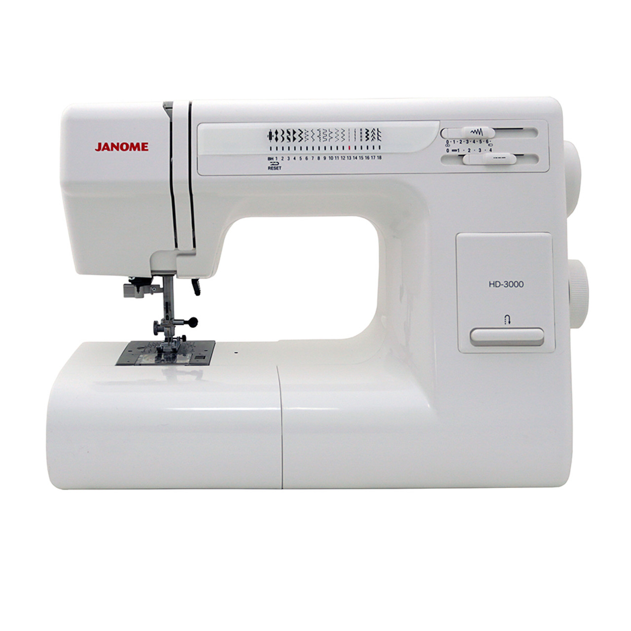 Janome HD3000 - Sewing Machine with Exclusive Bonus Bundle and Tote ...