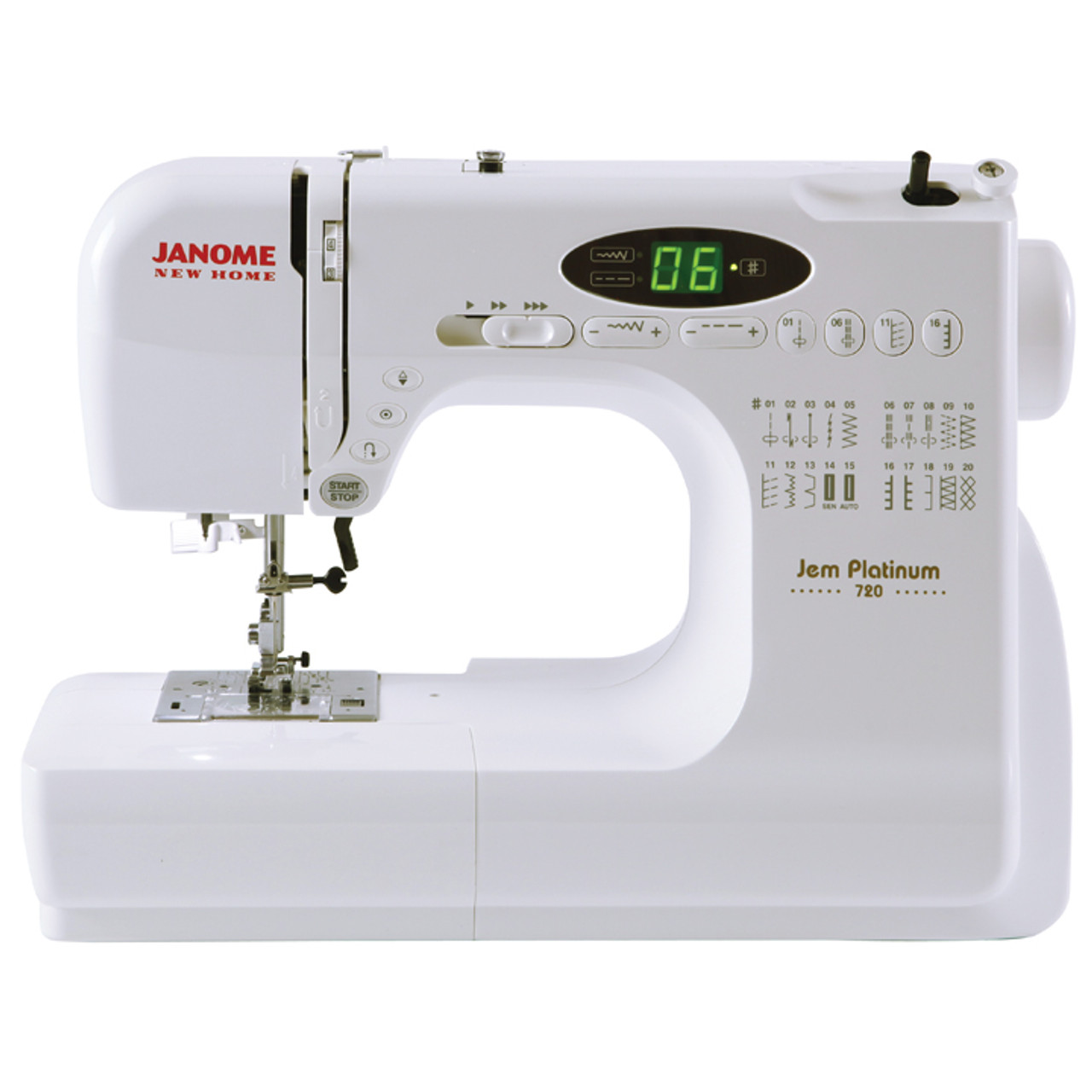 Janome New Home JNH40 Jem Sewing Machine With Exclusive Bonus Awesome New Sewing Machine