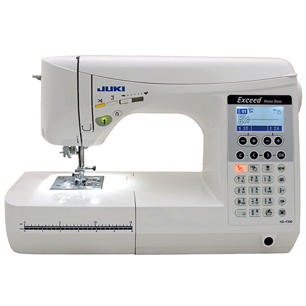 Juki Exceed HZL F40 Home Deco Computerized Sewing Machine 4040 Extraordinary Computerized Sewing Machine