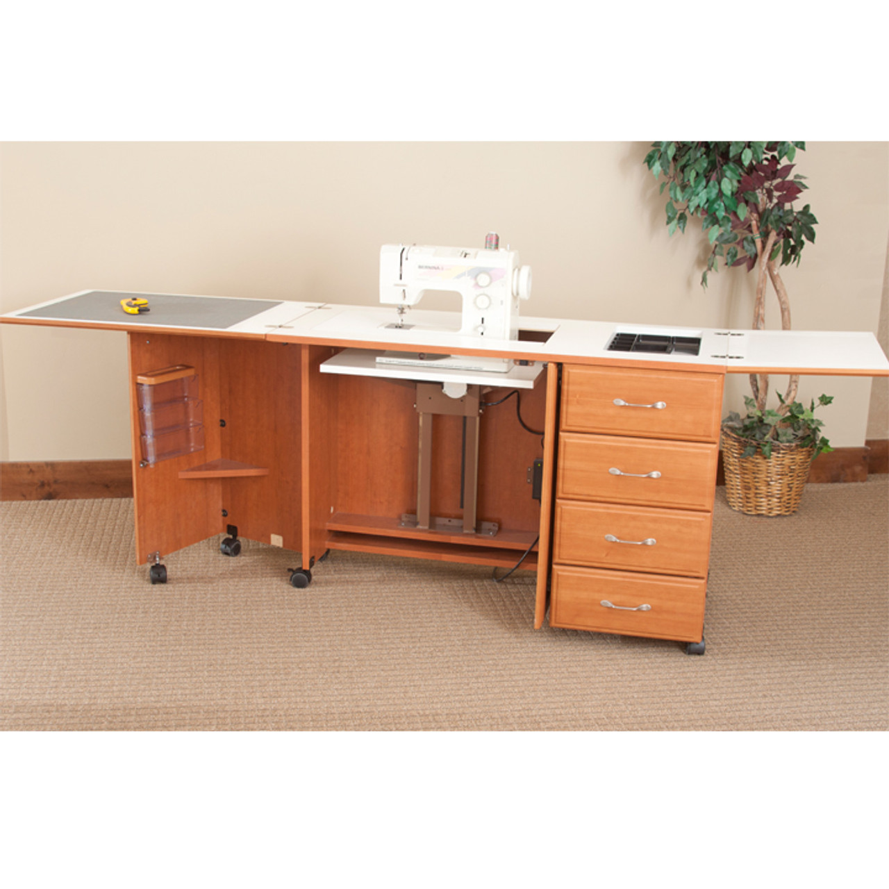Fashion Sewing Cabinets 7600 Space Saver Sewing Cabinet ...