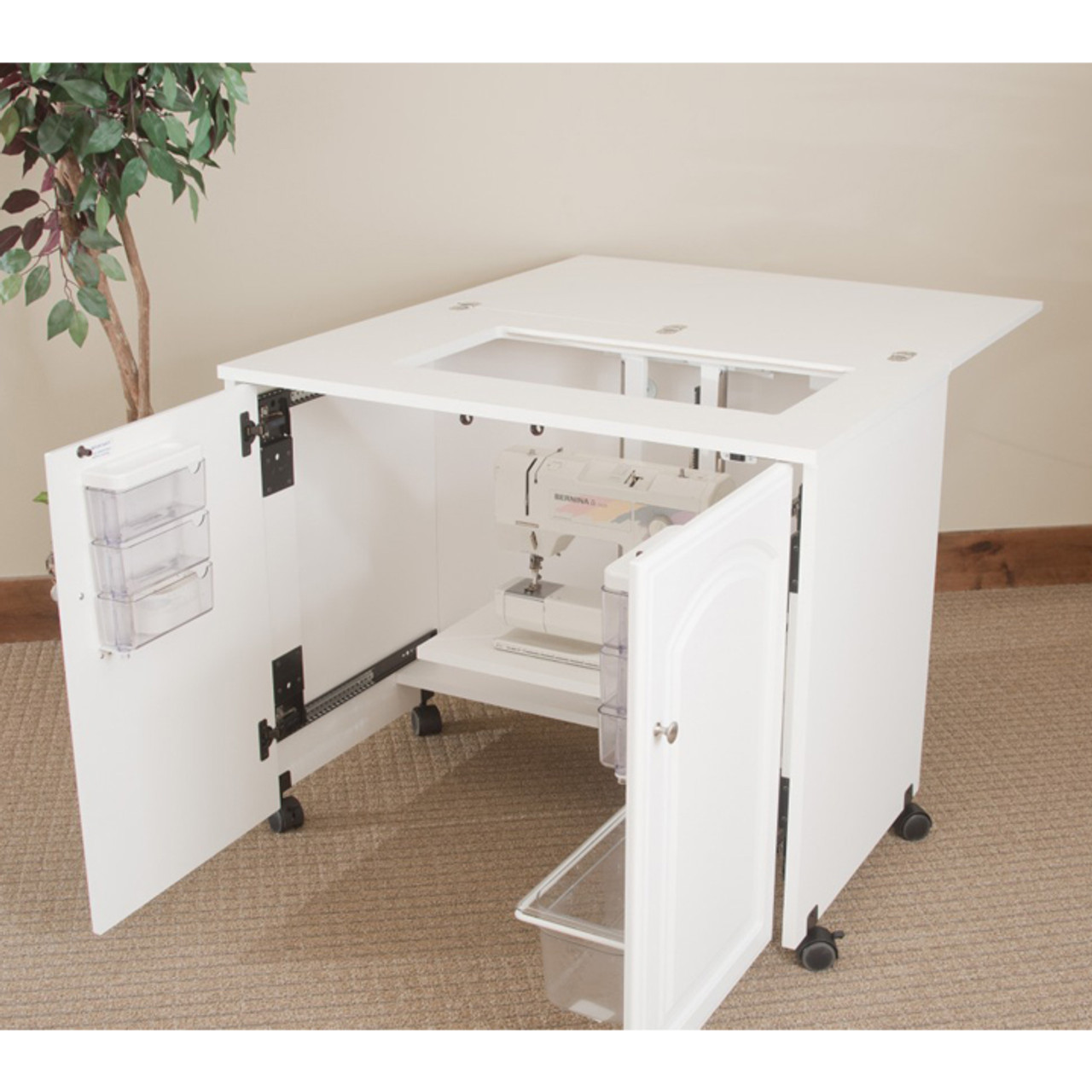 ... Fashion Sewing Cabinets 7500 Space Saver Sewing Cabinet ...