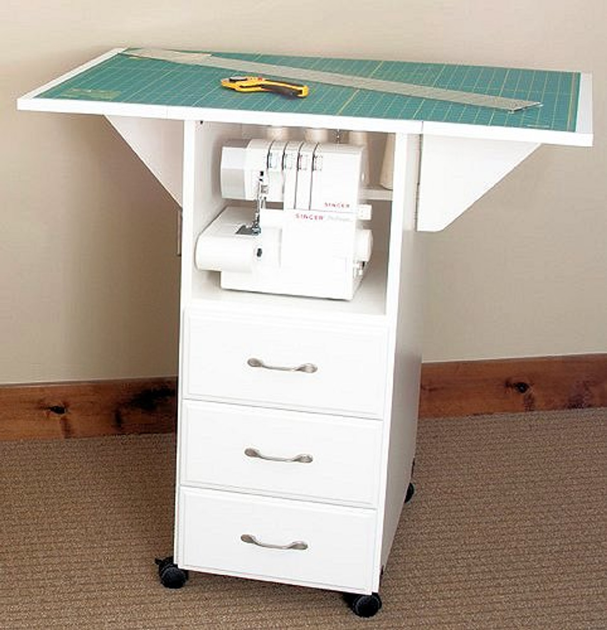 Fashion Sewing Cabinets 93c Cutting and Craft Table $745 ...
