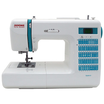 Janome DC2013 Computerized Sewing Machine with Bonus Bundle