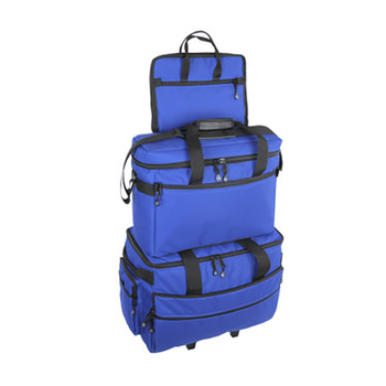 BlueFig TB19 Sewing Machine Carrier/Project Bag/Notion Bag in Cobalt