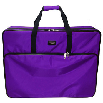 "Tutto 26"" Purple Embroidery Project Bag"