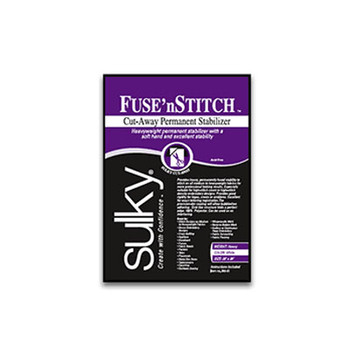 "Sulky Cut Away Fuse 'n Stitch 663-25 (24"" x 25 yd)"