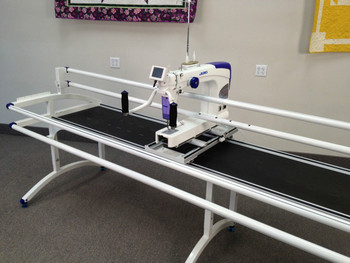 Juki TL2200QVP Quilt Virtuoso Pro Longarm on Grace Virtuoso King Frame