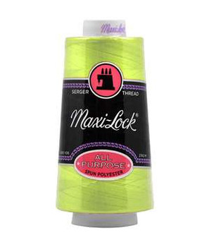 A&E Maxi-Lock Serger Thread - Sour Apple