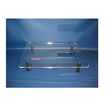 """Janome 18"""" x 24"""" Acrylic Extension Table for Models Mystyle100, HF5812 & Kenmore 19106 & 19112"""