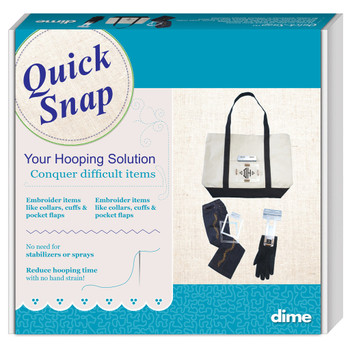 Quick Snap Hooping System For Brother & Babylock Embroidery machines
