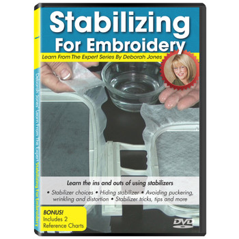 Learn From the Expert Volume 1: Stabilizing for Embroidery