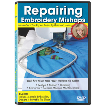Learn From the Expert Volume 4: Repairing Embroidery Mishaps