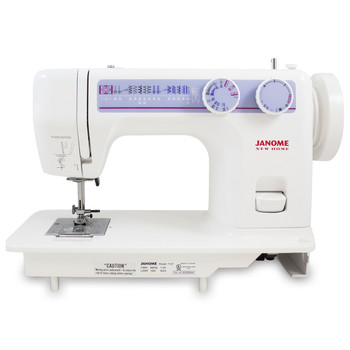 Janome 712T Treadle Sewing Machine (Refurbished) - Front view
