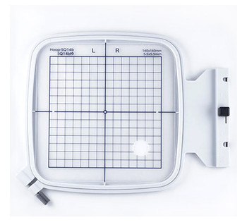 "Janome SQ14B 5.5"" x 5.5"" Embroidery Hoop fits MC500E, 400E and More!"