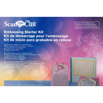 Brother ScanNCut Embossing Starter Kit
