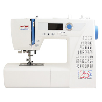 Janome NQM2016 National Quilt Museum 25th Anniversary Edition (Refurbished) - Front view