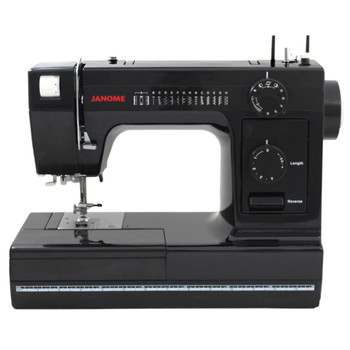 Janome HD1000 Black Edition Sewing Machine  (Refurbished) - Front View