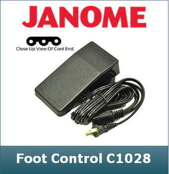 Janome Mechanical Foot Control fits Many Brands and Models