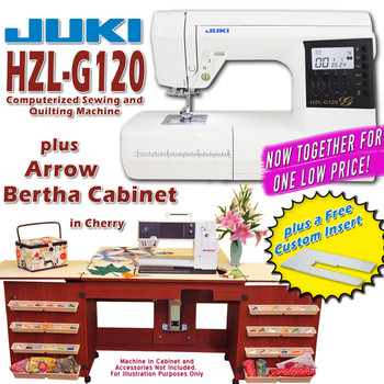 Juki Sewing Machine Arrow Sewing Cabinet Combo 7