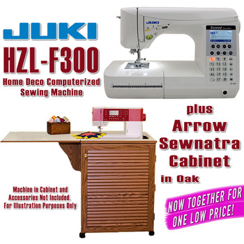 Juki Sewing Machine Arrow Sewing Cabinet Combo 8